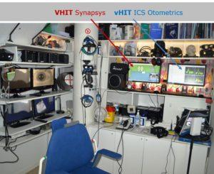 Balanslaboriet Stockholm använder två VHIT system som kompletterar varandra mätningar