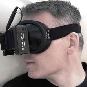 Videonystagmogram mask VNG