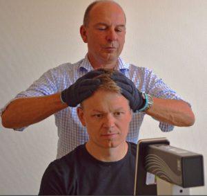 Videoheadimpulsetest modern teknik för diagnostik av yrsel på Balanslaboratoriet
