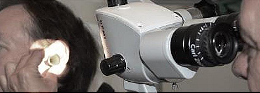 Öronmikroskopi Balanslaboratoriet