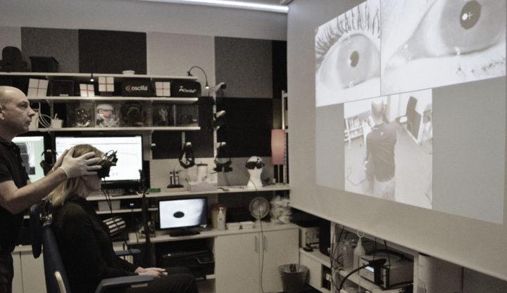Balanslaboratoriet Stockholom Videonystagmoskopi