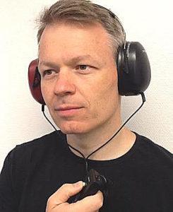 Hörselprov viktig del av en balansnedersökning Balanslaboratoriet