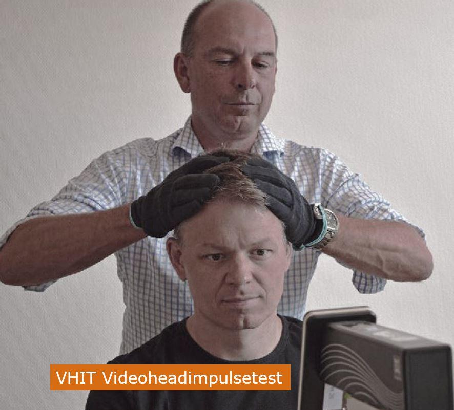 Balanstest Videoheadimpulsetest