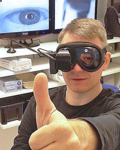 Visuellt hämningstest mäter det hämmande finjusterande signalflödet från lilla hjärnan
