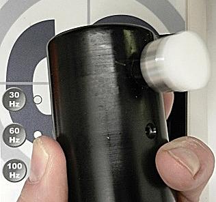 Vibrationsutlöst nystagmus balanslaboratoriet